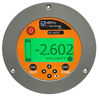 Digital Pressure Gauge- Panel Mount